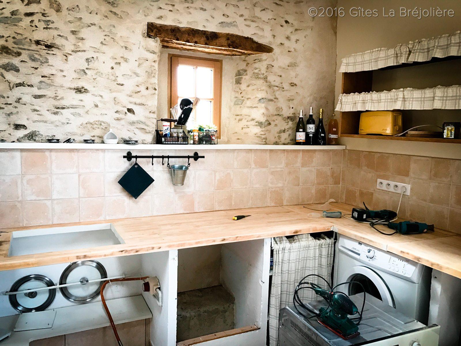 R novation plan travail cuisine alexandrin g tes la - Renovation plan de travail cuisine ...